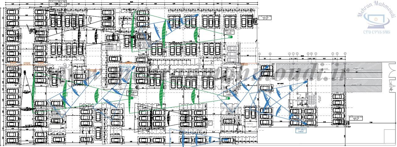 car park ventilation CFD modeling