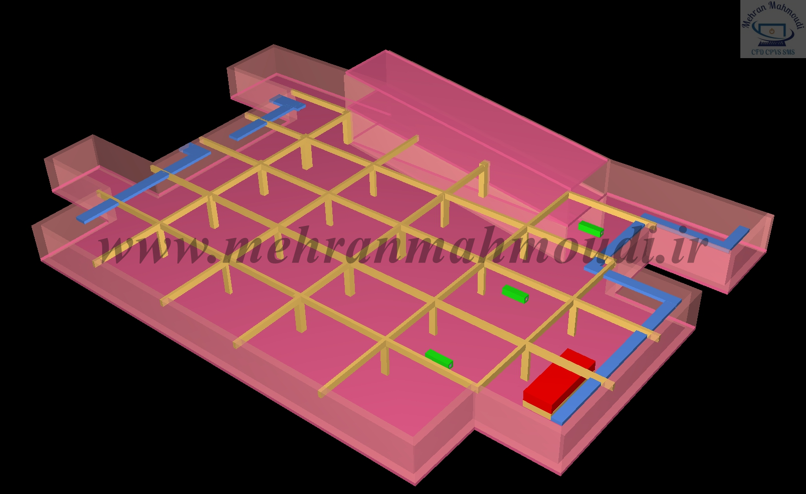 CFD Analysis of parking ventilation system