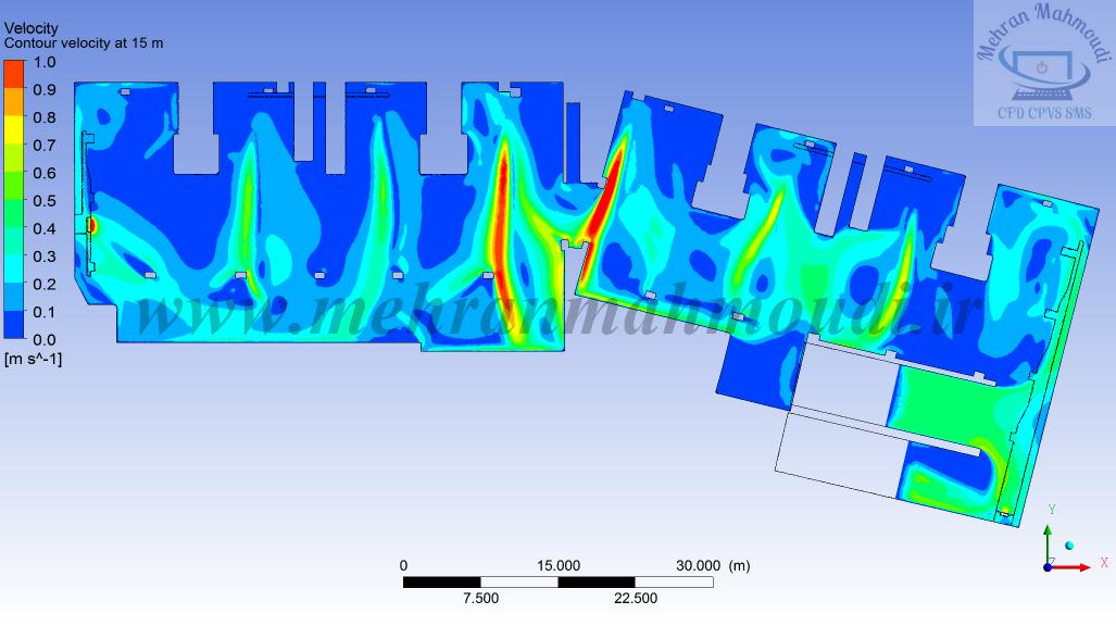 CFD simulation of car park ventilation system