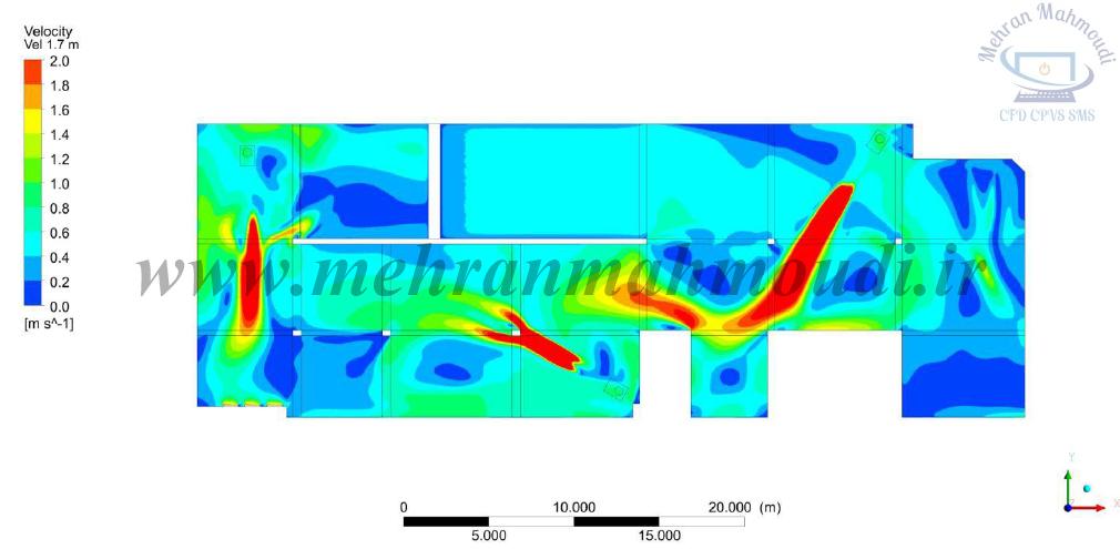 CFD car park ventilation system